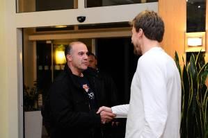 121101 Blake Wheeler meets Team EHC RB München